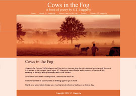 ST Haggerty, author of Cows in the Fog